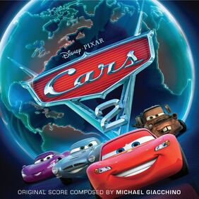 Cars 2 Original Score Soundtrack (Official Album Cover)
