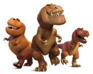 T-Rex's The Good Dinosaur 03