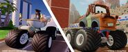 Disneyinfinitymatermonstertruck-captjackcindrella'scairrage