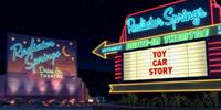 Radiator Springs Drive-In Theatre
