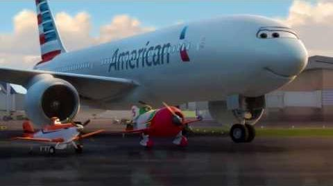 """Something's Different About American"" featuring Disney's Planes"