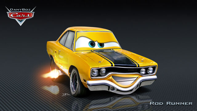 File:Cars rod runner by danyboz-d4a7dsn.jpg