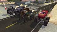 4 monster trucks