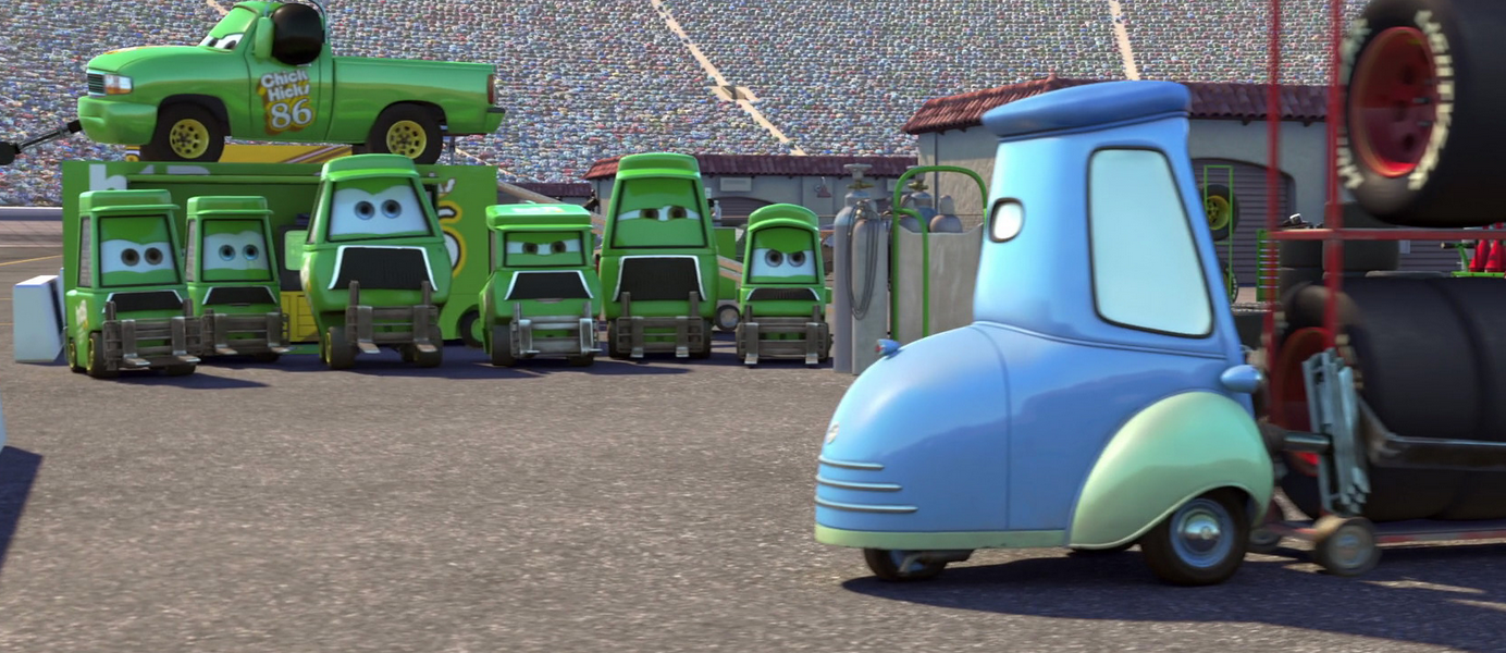 Chick Hicks' Pit Crew | Pixar Wiki | Fandom powered by Wikia