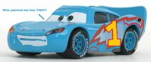 Lightning McQueen as Thomas