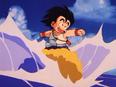 Goku surfuje na Kinto