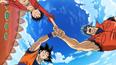 Goku, Luffy i Toriko idą złapać Akami