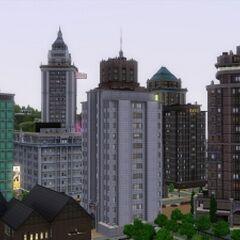 Wieżowce w Bridgeport