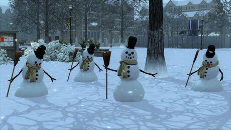 Bałwany w The Sims 3.jpg