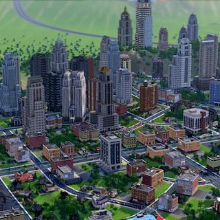 Przykładowe rozwinięte miasto