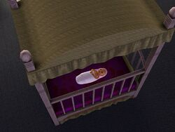 Niemowlę (Dziewczynka) z The Sims 3