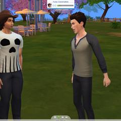 Emocje w The Sims 4