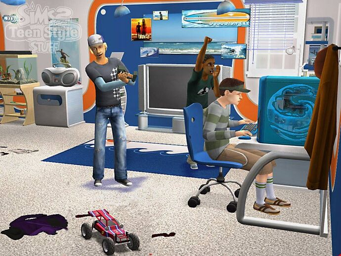 The Sims 2: Młodzieżowy Styl