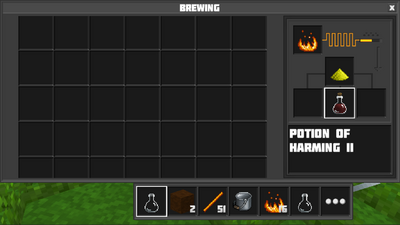 how to make a potion of harming 3