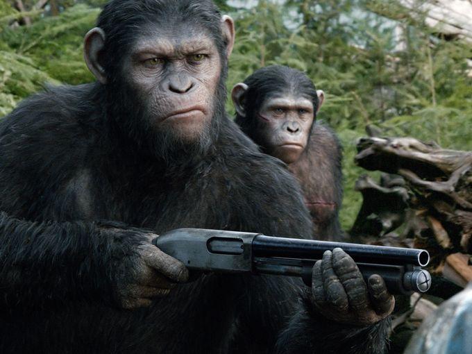 Caesar Monkey Drawing Caesar And His Son Blue Eyes