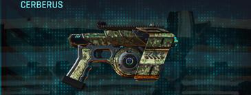 Pine forest pistol cerberus