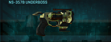 Temperate forest pistol ns-357b underboss