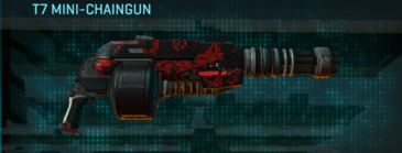 Tr loyal soldier heavy gun t7 mini-chaingun