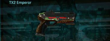 African forest pistol tx2 emperor