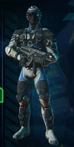 Infiltrator Armor