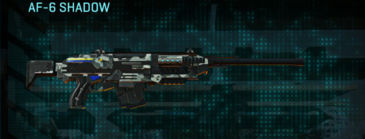 Northern forest scout rifle af-6 shadow