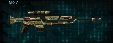 Palm sniper rifle sr-7