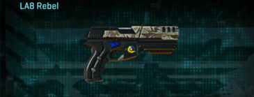 Arid forest pistol la8 rebel