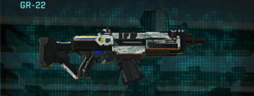 Rocky tundra assault rifle gr-22