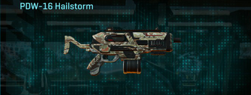 Arid forest smg pdw-16 hailstorm