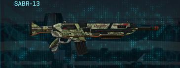 Pine forest assault rifle sabr-13