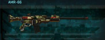 India scrub battle rifle amr-66