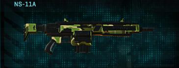 Jungle forest assault rifle ns-11a