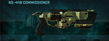Temperate forest pistol ns-44b commissioner