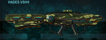Temperate forest rocket launcher hades vsh4