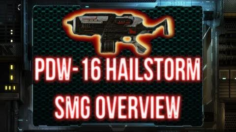 Planetside 2 - PDW-16 Hailstorm Weapon Overview TR SMG REDONE