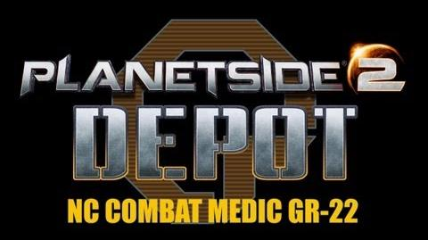 Planetside 2 Depot NC Combat Medic GR-22 review and gameplay