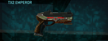 Woodland pistol tx2 emperor