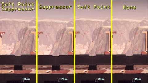 Planetside 2 - GD-7F Bullet Drop Velocity Attachment Comparison