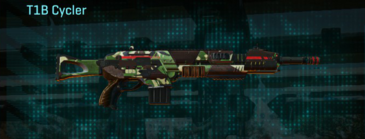 African forest assault rifle t1b cycler