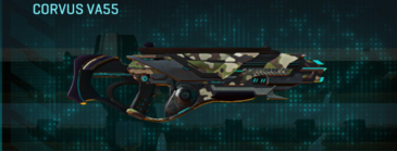 Woodland assault rifle corvus va55