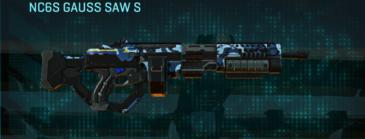 Nc alpha squad lmg nc6s gauss saw s