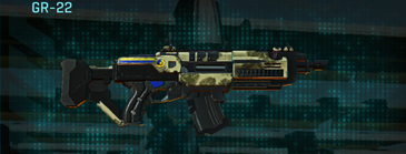 Palm assault rifle gr-22