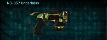 African forest pistol ns-357 underboss