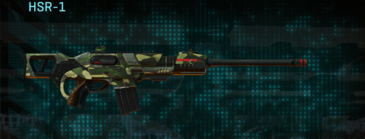 Temperate forest scout rifle hsr-1