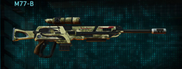 Palm sniper rifle m77-b