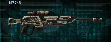 Arid forest sniper rifle m77-b