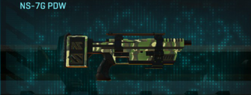 Temperate forest smg ns-7g pdw
