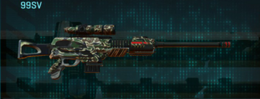 Scrub forest sniper rifle 99sv