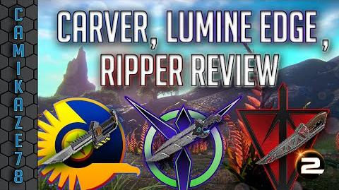 Carver, Ripper & Lumine Edge Knife Review Planetside 2 Gameplay