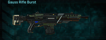 Amerish scrub assault rifle gauss rifle burst